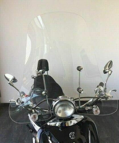 Roller Windschild Windschutzscheibe Retroroller Motorroller Scooter ZNEN