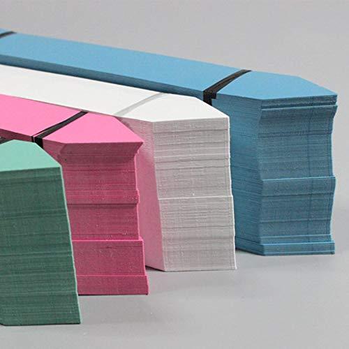 KINTRADE 100PCs PVC Vallas Forma Etiquetas de jardín para la Etiqueta de la Flor de vivero marcadores jardinería Accesorio: Amazon.es: Hogar