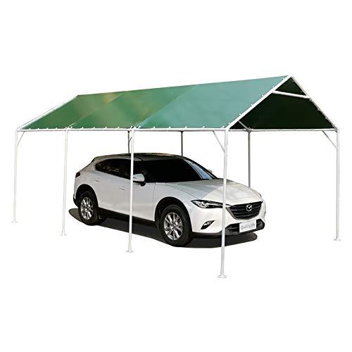 ZDYLM-Y Carport Car Port Party Zelt, Allwetter wasserdichtes kompaktes tragbares Garagenhaus im Freien, verdicktes Stahlrohr,3.1x4.5m
