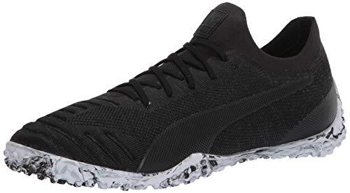 PUMA mens 365 Concrete 1 St Futsal Shoe, Puma Black-asphalt-puma White, 10.5 US