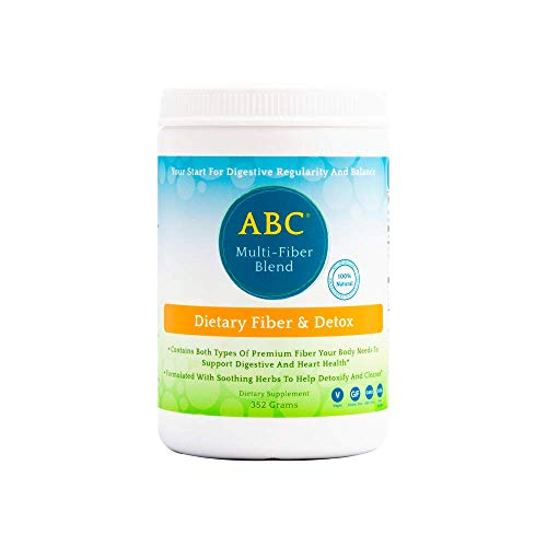 Aerobic Life ABC Multi-Fiber Blend Dietary Fiber and Detox Cleanse Powder, 352 Grams