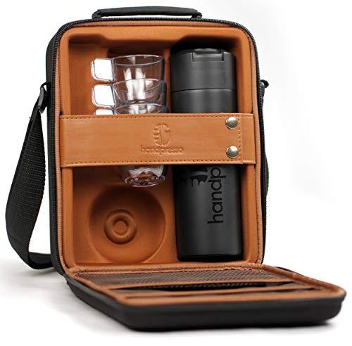 Handpresso 48242 Tasche/Koffer schwarz für Handpresso Pump mit Thermosflasche und 4...