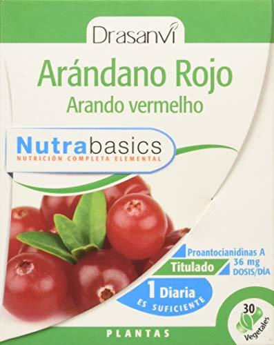 Drasanvi Arandano Rojo 30 Capsulas Nutrabasicos Drasanvi - 1 Unidad
