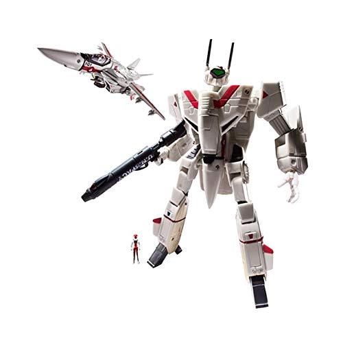 Toynami Robotech Rick Hunter's 1: 100 Vf-1J Veritech Action Figure, Multicolor