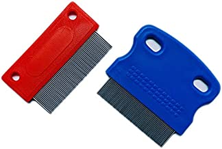 Otterly Pets Dog Tear Stain Remover Grooming Combs for Gently Removing Eye Mucus and Crust (2-Pack)
