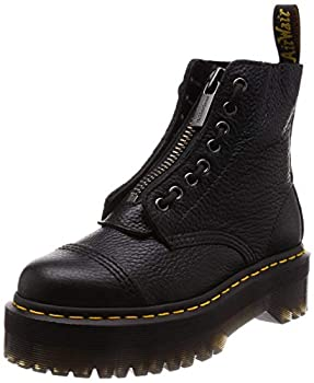 Dr Martens Women s Sinclair 8 Eye Leather Platform Boots White Milled Nappa Leather 8 Medium US
