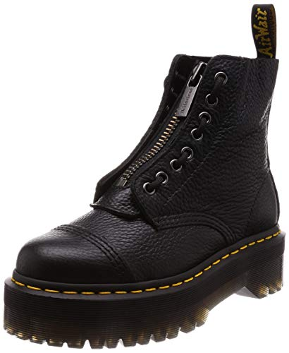 Dr.Martens Womens Sinclair Black Leather Boots 40 EU