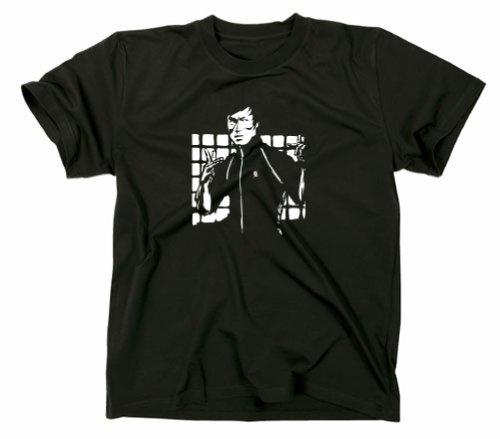 #2 Bruce Lee Mein letzter Kampf Kult T-Shirt, schwarz, L