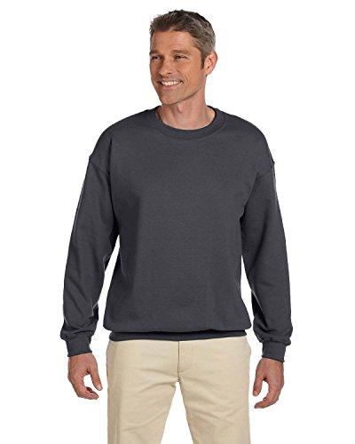 Gildan Men's Heavy Blend Crewneck Sweatshirt - Large - Charcoal