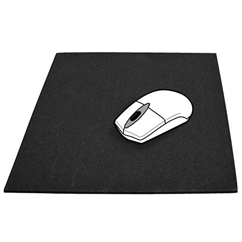 """15 Pack Bulk Mouse Pads, 11 x 10"""" Fully Customizable Neoprene Material, Water Resistant, Non-Slip Material, Made in USA"""