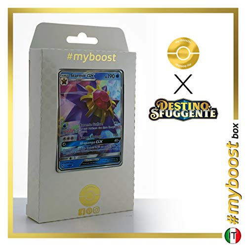 Starmie-GX 14/68 - #myboost X Sole E Luna 11.5 Destino Sfuggente - Doos met 10 Pokemon Italiaanse kaarten
