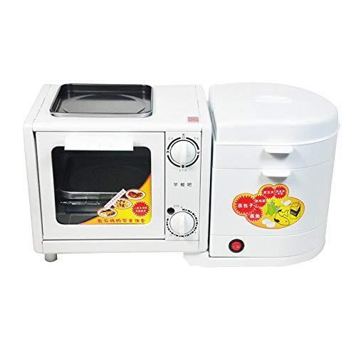 Máquina De Pan Tostadora Multifunción Hogar Cuatro En Uno Horno Tostador Vaporizador De Tortillas Caldera De Huevo Vaporizador Eléctrico
