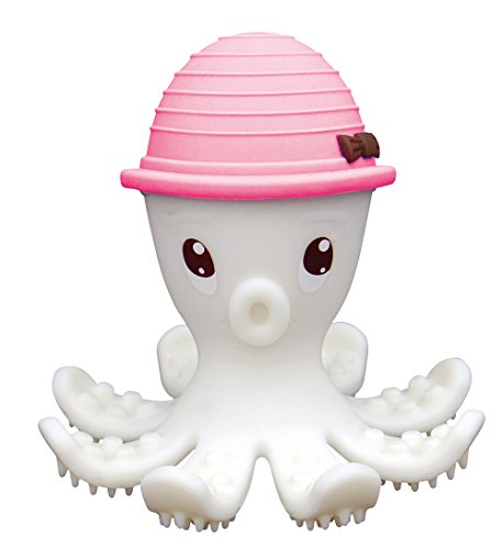 Baby-To-Love Octopus - Teether (Rosa)