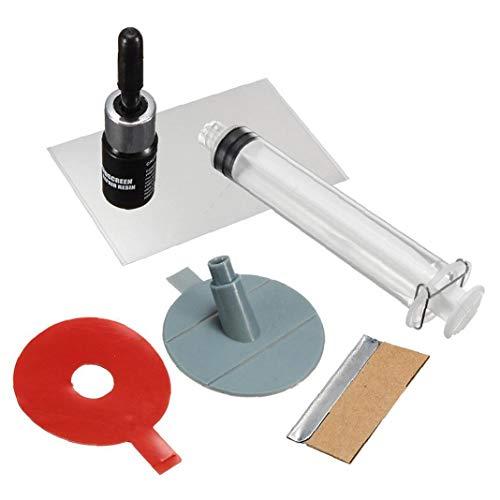 TOPofly Tragbare Windschutzscheibe Reparatur Kit Praktische Windschutzscheibe DIY Chip für Automobil-Auto Damaged Windschutzscheibe oder Fenster 1set