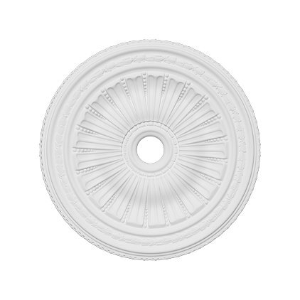 Rosetón de techo de poliétano 1.036, diámetro 88,7 cm