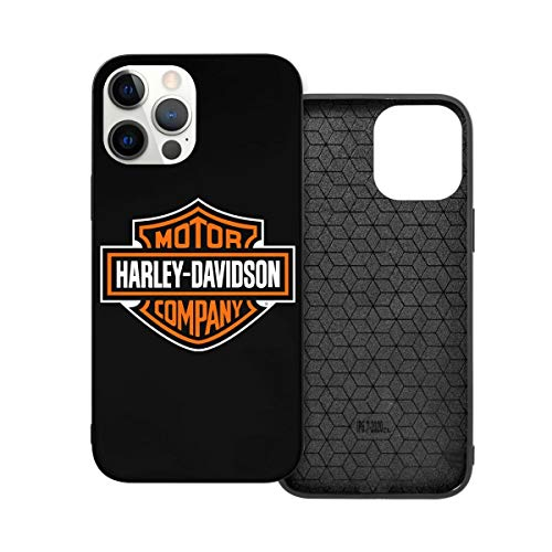 N / A Harley Davidson Handyh¨¹lle iPhone 12 PC Materiale Unisex per la protezione della persibilità del telefono Resistente alla polvere Iphone12 Pro-6.1
