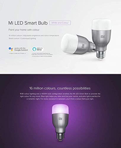 Ampoule connectée Xiaomi Mi LED 3