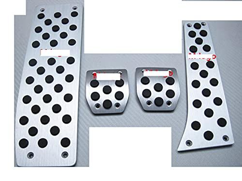 Glingfjz per BMW X1 E46 E90 E92 E93 E87 Serie 3 Nuovi Accessori per Auto Serie 1 Pedale dell'acceleratore in Lega di Alluminio Pedali del Freno Acceleratore