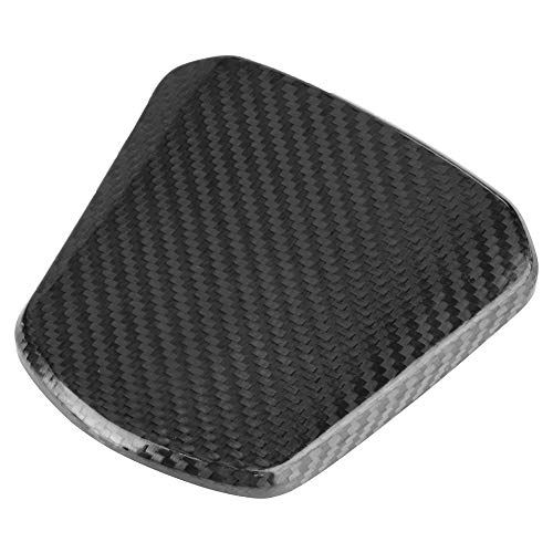Fuel Gas Tank Cover, Motorcycle Scooter Carbon Fiber Fuel Gas Oil Tank Cap Cover for Honda PCX 125 150 PCX125 PCX150
