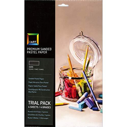 "UART Dark Trial Pack 7"" x 11"" Sheets"