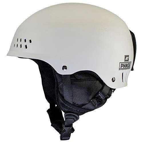 K2 Ski Unisex– Erwachsene Phase Pro Skihelm, Stone, L/XL (59-62cm)