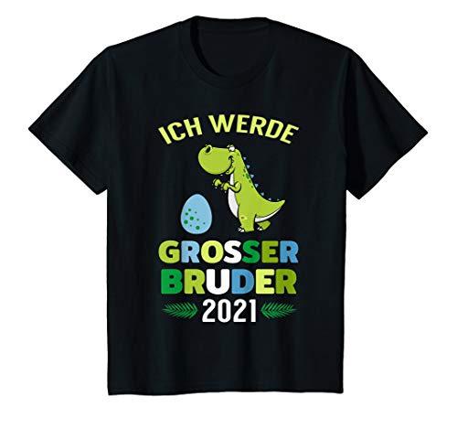 Kinder Grosser Bruder 2021 Junge Geschwister Sohn Baby Geschenk T-Shirt