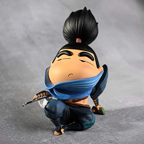 Summoner's Canyon GK Figuren, Hayate Swordsman, Yasuo, GK, Q Version der Charaktermodelldekorationen