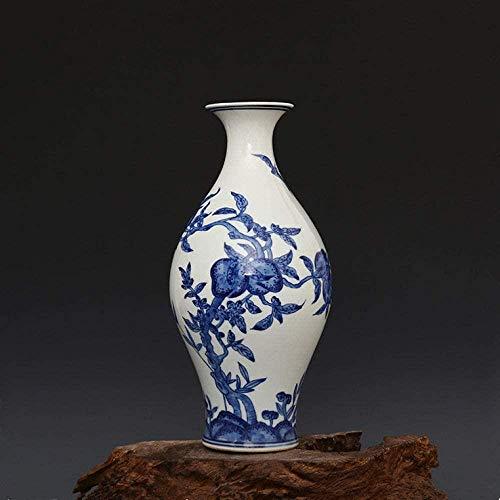 Vaas decoratie Home Decoration Crafts de hand geschilderd blauw en wit keramiek vaas