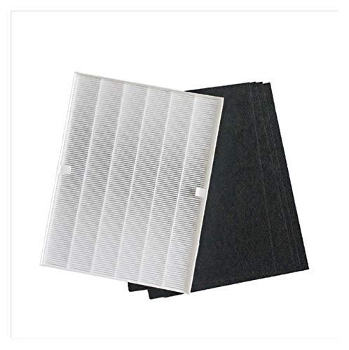LAIQIAN Piezas del Purificador De Aire De Reemplazo Filtro HEPA Filtro De Carbón Activado Fit For Winix 115115 5300 6300 6300-2 P300 C535 Limpiador De Aire Carbono Pre-Filtro (Color : White)