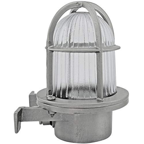 Fos messing muurspot scheepslamp scheepsverlichting lamp licht nautische marine boot wandlamp wandlamp industrielicht LED