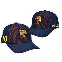 Gorra Oficial FC BARCELONA - Messi 10 + Firma