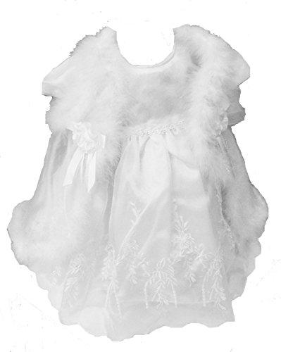 Unknown - Robe de baptême - Bébé (fille) 0 à 24 mois Blanc blanc 18-24months