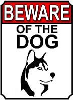 犬の注意してくださいブリキの看板壁の装飾金属ポスターレトロプラーク警告看板オフィスカフェクラブバーの工芸品