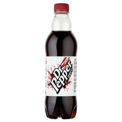 Dr Pepper Zero 500ml (Packung 12)