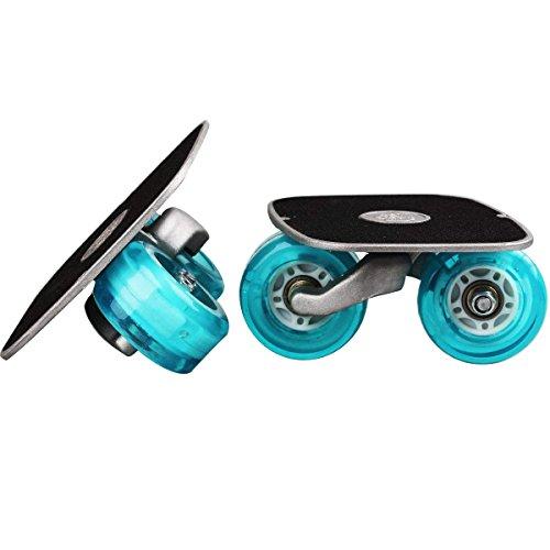 TWOLIONS Patines de Drifting Freeline Skates con Pedal de aleación 72mm * 42mm Ruedas de PU ABEC-7 608 Cojinetes Bolso Adicional