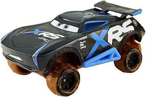 Disney Cars GBJ38 - XRS Xtreme Racing Serie Schlammrennen Die-Cast Spielzeugauto Jackson Storm, Spielzeug ab 3 Jahren