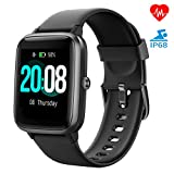 Smartwatch, LIFEBEE Fitness Armband Fitness Tracker Voller Touch Screen Smart Watch IP68 Wasserdicht...