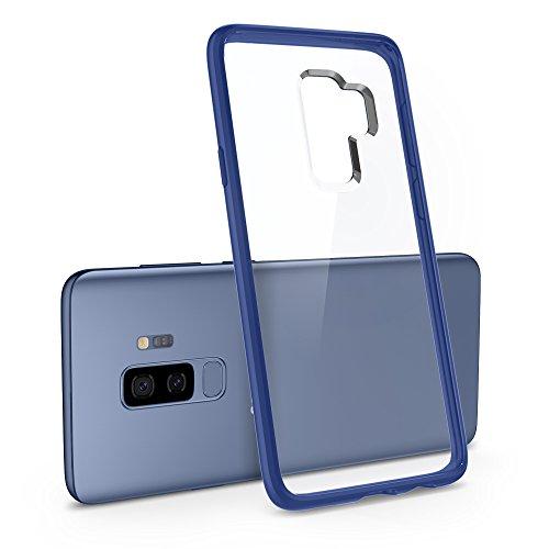 Spigen Funda Ultra Hybrid Compatible con Samsung Galaxy S9 Plus (2018), Protección híbrida de la caída - Coral Azul
