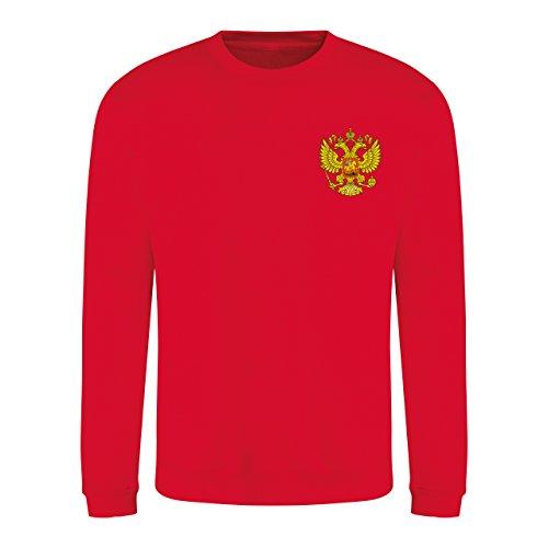 Retro Russland Срнарарарана Sweatshirt mit langen Ärmeln