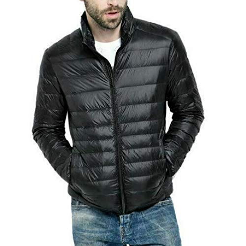 N/A/ SWEETWU wyprzedaż fabryczna męska lekka 90% puchowa kurtka męska płaszcz z futrem