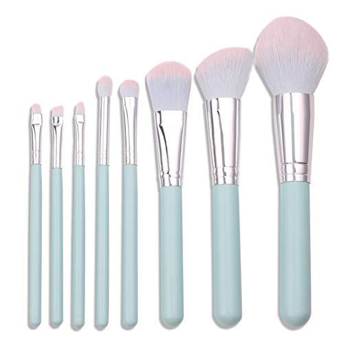 QXX-Make-up Brush Pinceau de Maquillage Professionnel Set Pinceau Fond de Teint avancé de synthèse 8Pcs