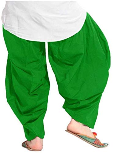 YNS Crafts Stock ® Women's Cotton Traditional Semi Patiala Salwar Pack Of 1