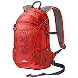 Jack Wolfskin Unisex– Erwachsene Velocity 12 Rucksack, lava red, One Size