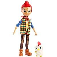 Enchantimals- Muñeca Redward Rooster con mascota Cluck (Mattel GJX39)