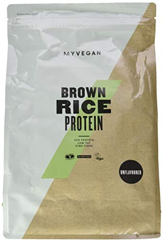 Myprotein - Brown Rice Protein Unflavoured, 1er Pack 1 x 2500 g