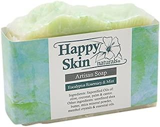 Happy Skin Naturals Eucalyptus, Rosemary & Mint Artisan Soap
