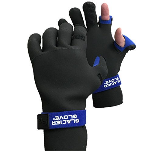 Glacier Glove Pro Angler Slit Finger Fishing Gloves