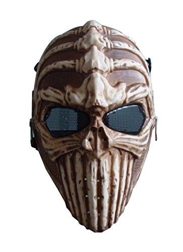 Enfants Halloween mascarade masque enfants Balls Squelette guerrier os