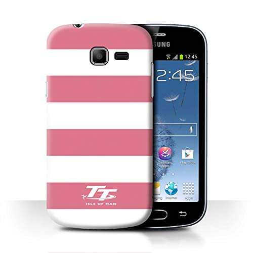 Isle of Man TT STUFF4 Phone Case/Cover/Skin/SGT-CC/Elegance Collection Samsung Galaxy Trend Lite/S7390 Roze zebra
