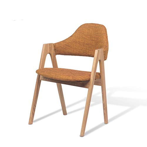 BYTGK Stoelen in retro-stijl, zijdeeetkamer, loungestoel voor woonkamer, slaapkamer, keuken